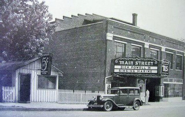 Main Street Theatre 1937, Lexington, MO