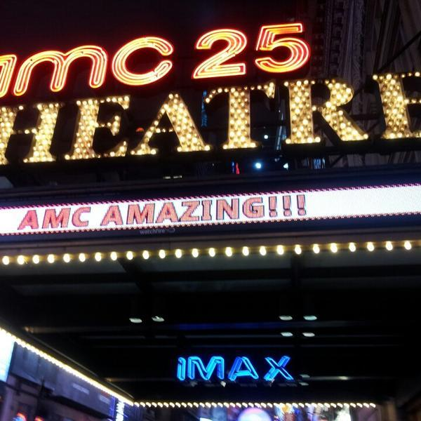 AMC Empire 25 sign logo