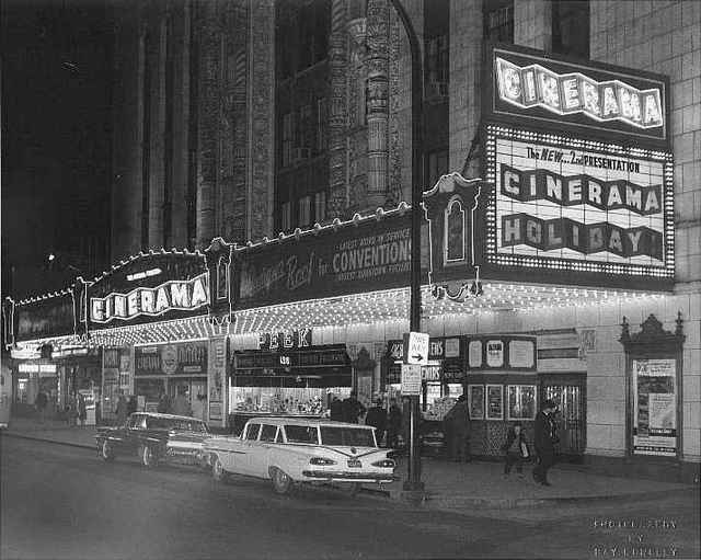 Indiana with Cinerama Marquee