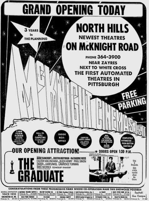 August 29th, 1968 grand opening ad