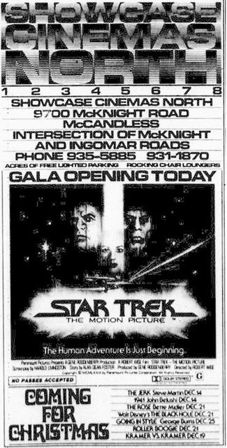 December 7th, 1979 grand opening ad