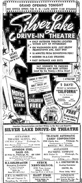 September 9th, 1949 grand opening ad