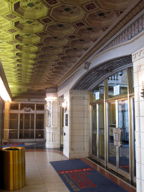 Chicago Theatre - Entrance Vestibule