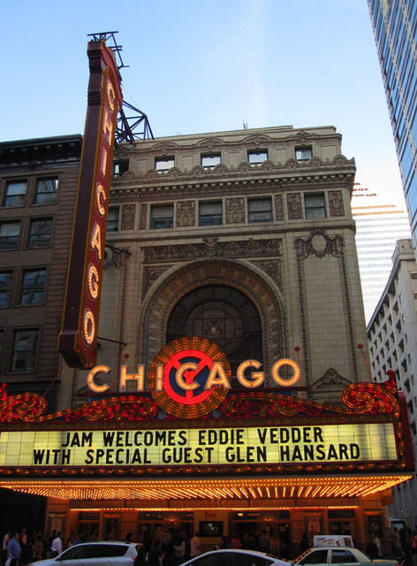 Chicago Theatre - Front Exterior