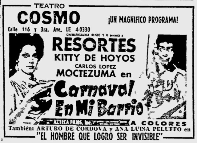 Spanish Newspaper Ad