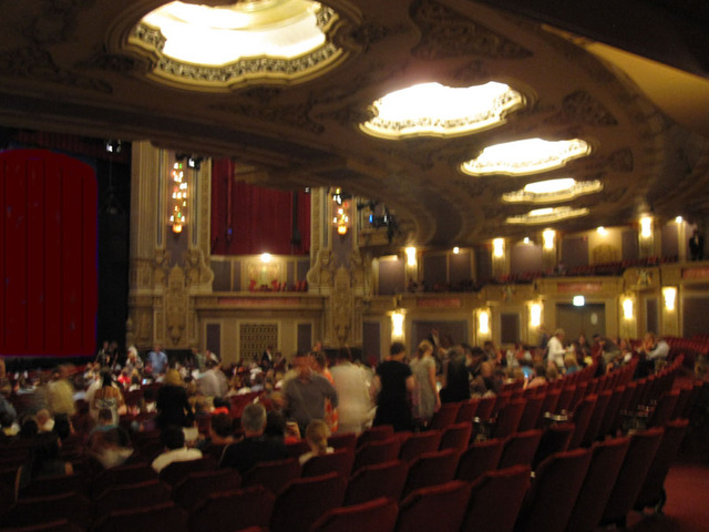 Oriental Theatre - Auditorium - Orchestra Level