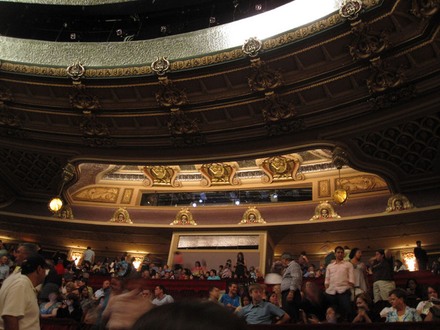 Oriental Theatre - Rear Balcony