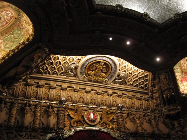 Oriental Theatre - Upper Proscenium Arch
