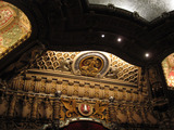 <p>The ornate upper proscenium arch.</p>
