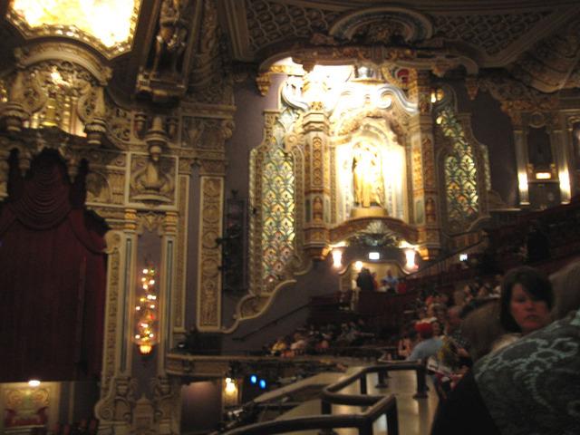 Oriental Theatre - Auditorium Sidewall Detail