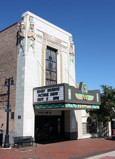 Egyptian Theatre, DeKalb, Illinois