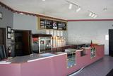 Plaza Cinemas 4, Dixon, Illinois - concession stand