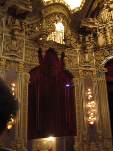 Oriental Theatre - Organ Screen