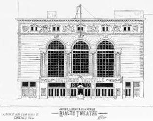 RIALTO Theatre; Chicago, Illinois.