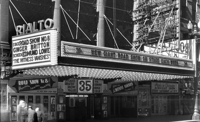 RIALTO Theatre; Chicago, Illinois.