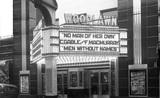 WOODLAWN Theatre; Chicago, Illinois.