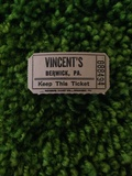 Possibly from the Berwick Theatre as the owner's name was Vincent