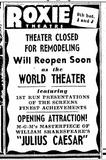 advert roxie theater