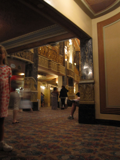 Oriental Theatre - Inner main foyer from Stairwell