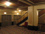 Oriental Theatre - Exit doors at end of main foyer