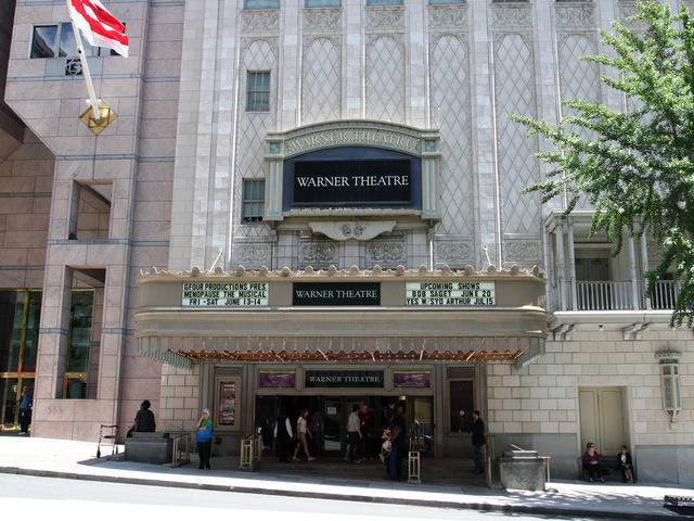 Warner Theatre, Washington, DC