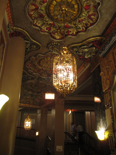 Oriental Theatre - Upper Foyer