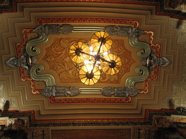 Oriental Theatre - Upper Foyer Ceiling