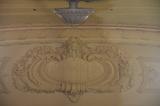 Proscenium cartouche
