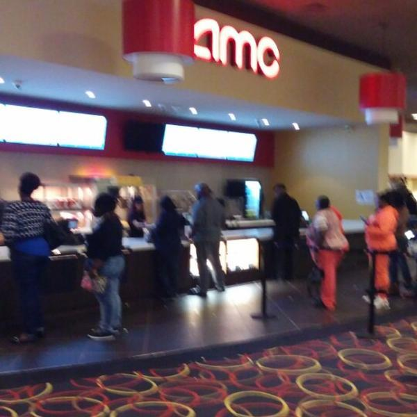 New look AMC Bay Plaza 13's lobby