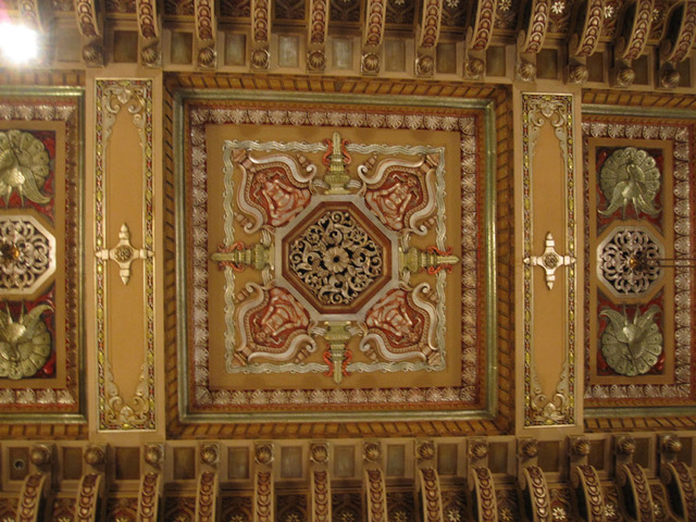 Oriental Theatre - Main Foyer Ceiling Ornamentation