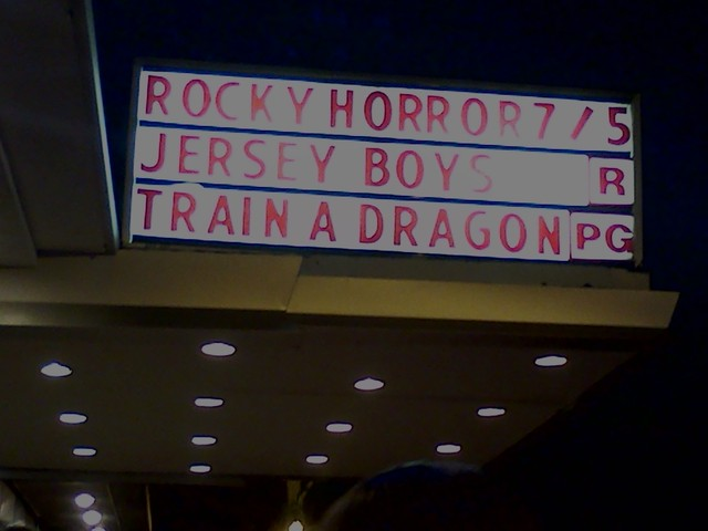 Rocky Horror Marquee