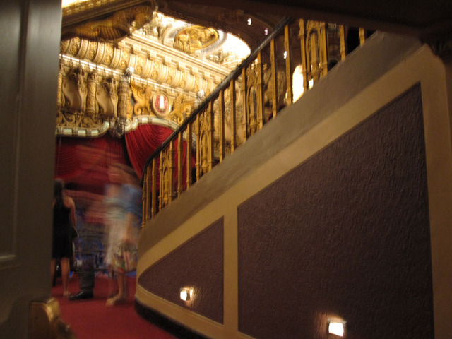 Oriental Theatre - Passageway to the balcony