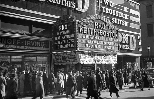 RKO Keith-Boston Theatre, Boston, MA - 1935