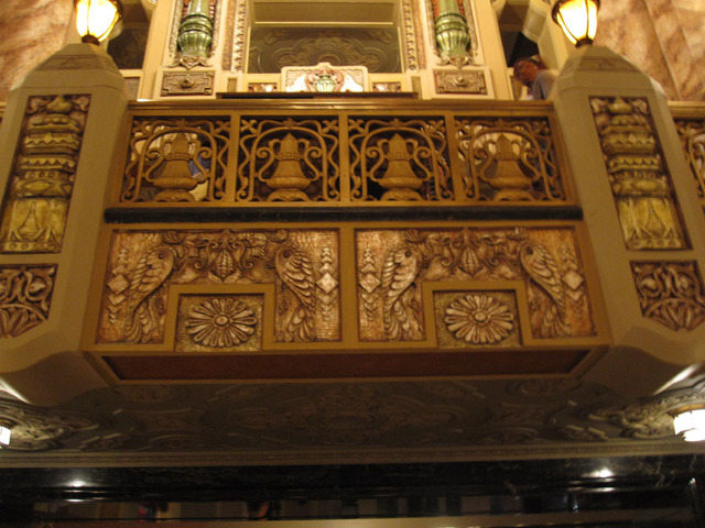 Oriental Theatre - Main Lobby ornamental detail