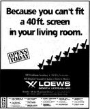 <p>November 23rd, 1999 grand opening ad</p>