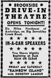July 25th, 1947 grand opening ad