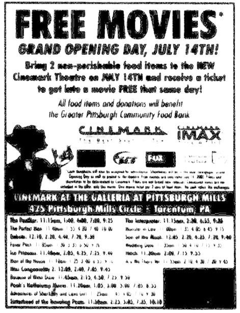 July 14th, 2005 grand opening ad