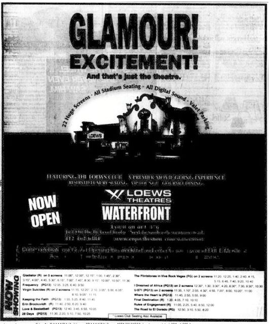 May 5th, 2000 grand opening ad