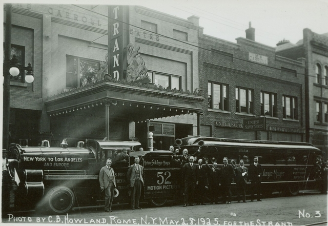 STRAND THEATER MGM PROMOTION