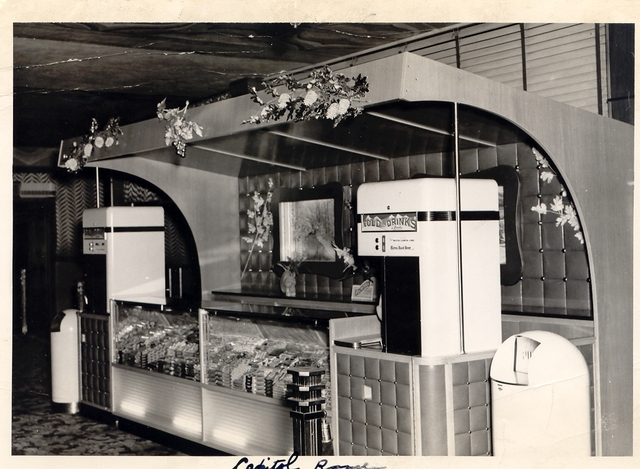 CAPITOL THEATRE CONCESSION STAND