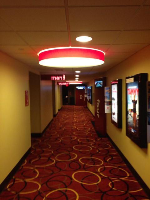 Beautiful movie theater