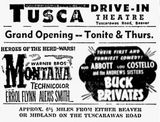 September 29th, 1950 grand opening ad