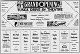 Official grand opening of April 6th, 1951