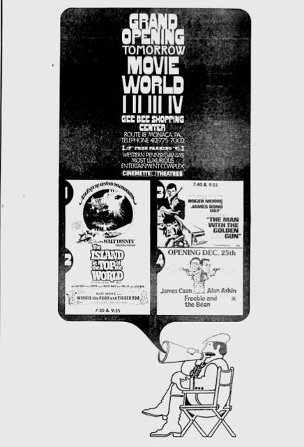 December 19th, 1974 grand opening ad