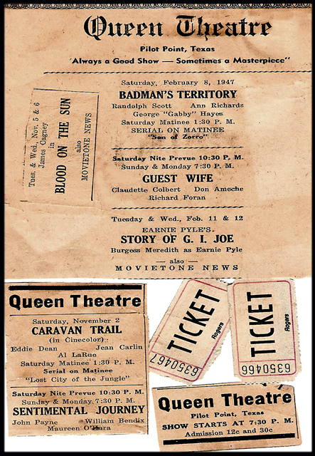 Queen Theater ... Pilot Point Theater