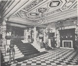 <p>A vintage photograph of the foyer.</p>