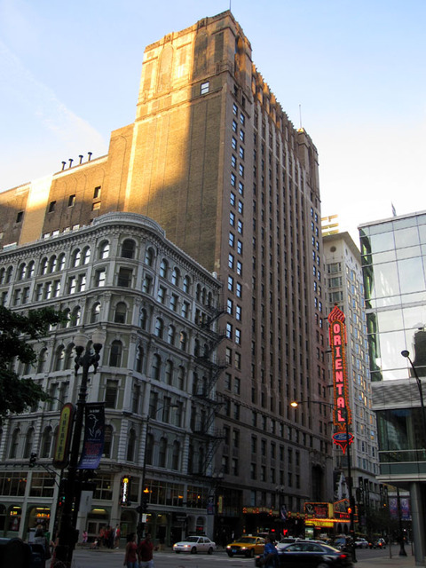 Oriental Theatre - Overall view of front of building