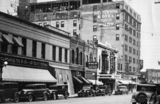 Downtown bismarck with the Capitol theater, year unknown