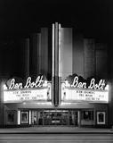 BEN BOLT NIGHT B&W