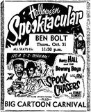 BEN BOLT HALLOWEEN 1957
